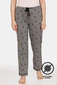 Buy Zivame Crazy Farm Antiviral Finish Cotton Pyjama - High Rise