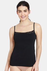 Buy Zivame Square Neck Camisole- Black