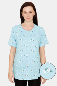 Buy Zivame Maternity Cotton Top - Clearwwater