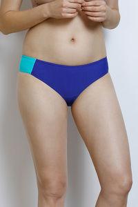 Buy Zivame Slip-On Bikini Bottom- Blue