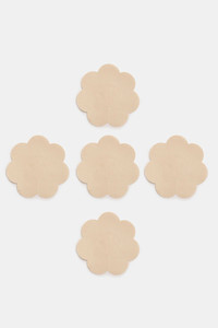 Buy Zivame (Pair of 5) Fabric Soft Nylon Nipple Concealers - Skin