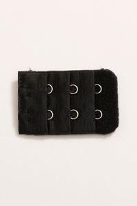 Buy Zivame 2 Hook And Eye Bra Extenders - Black