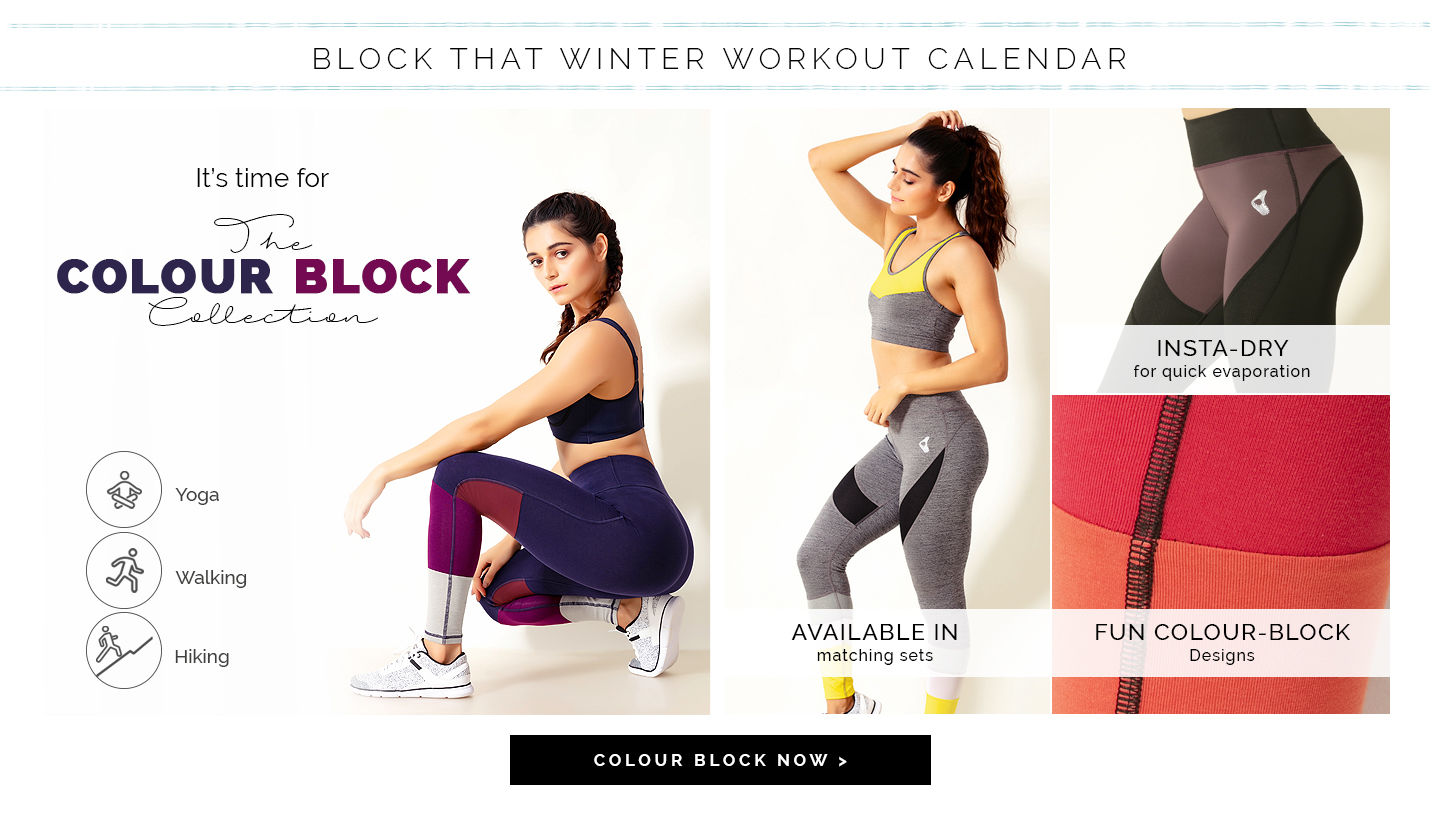 Workout Collection Zivame