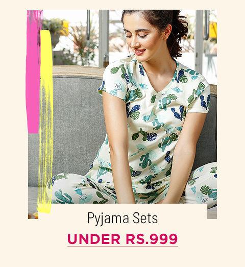 Under Rs.999 Pyjama Sets