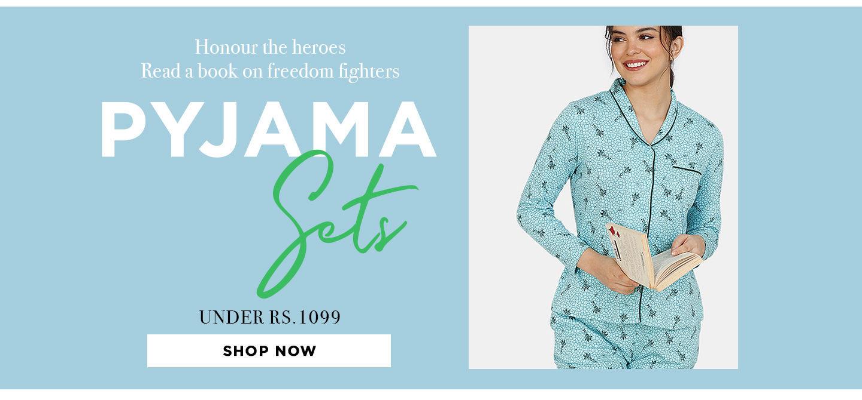 Lingerie Fest - Pyjama sets Under 1099