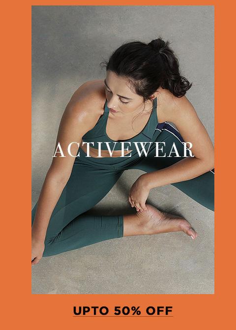 Lingerie Fest - Rect - Activewear Upto 50% Off