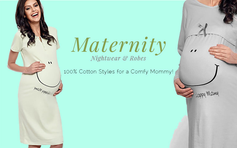 Sexy maternity nighties
