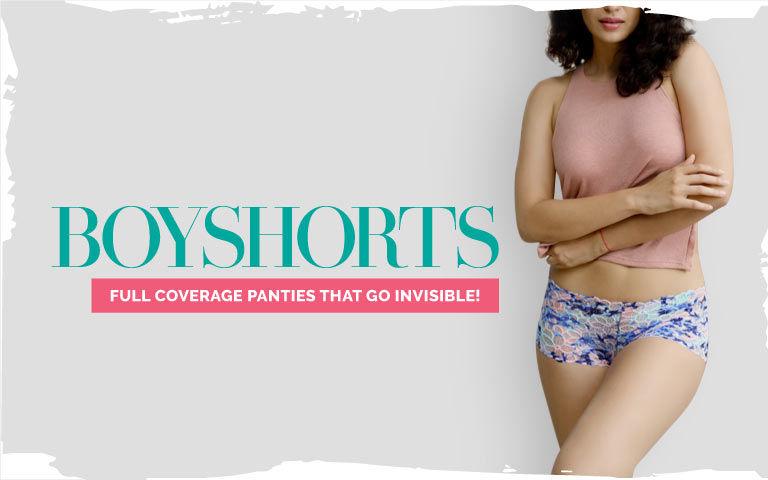 afb461fd93a Boyshorts - Buy Boyshort Panties for Women Online