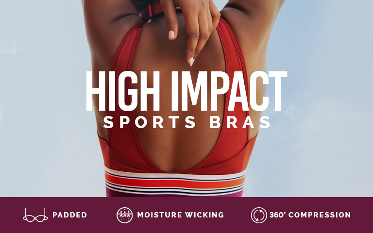 3b5f4bfbacaaf Women High Impact Sports Bra Online in India