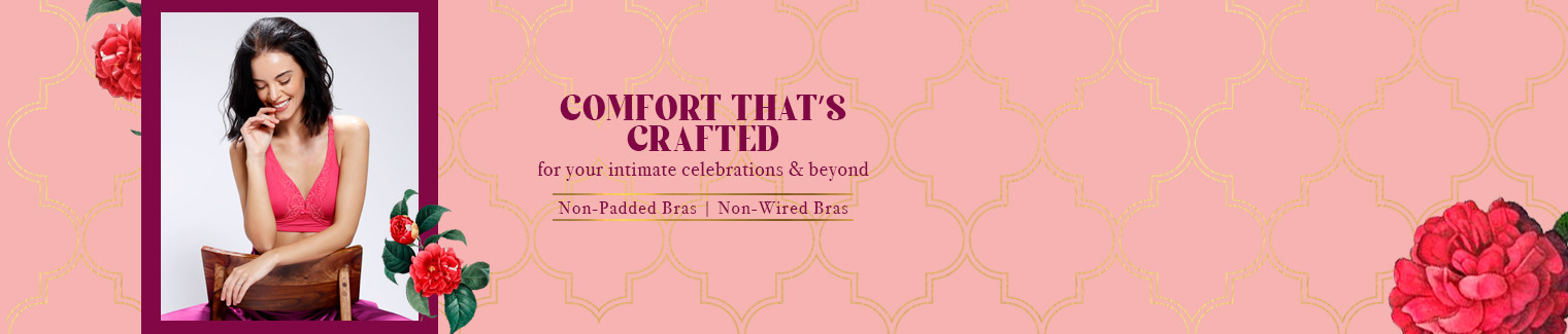 Non Padded & Non Wired bras