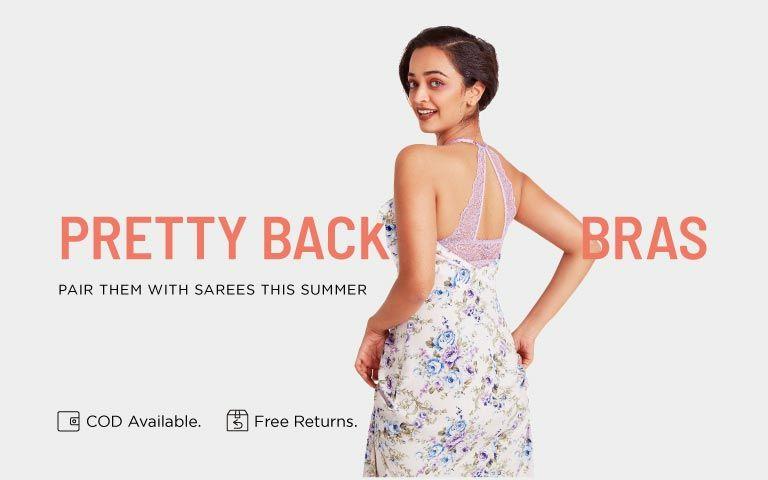 9d934440710 Pretty Back Bras - Buy Sexy Bras Online in India