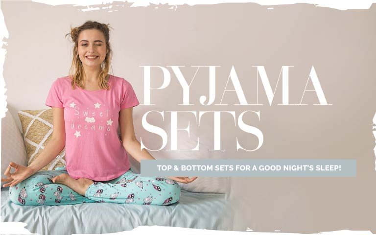 40a427950a Women Pyjama Sets - Buy Pyjama Sets for Women Online
