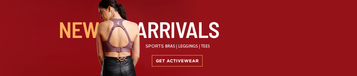 activewear new arrivals