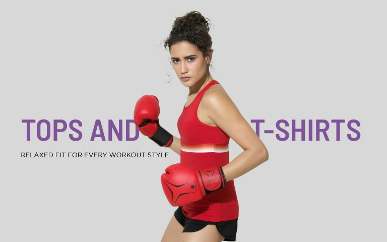 8098e929a2a6f Womens Gym Tops - Buy Gym Top for Women Online in India