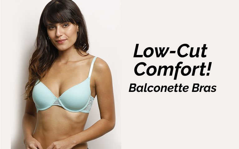 a2a48c979da8a Balconette Bra - Buy Best Balconette Bras Online in India
