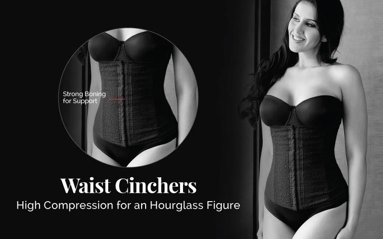 5db53b4a2f Waist Shaper - Buy Women Waist Cinchers Online in India