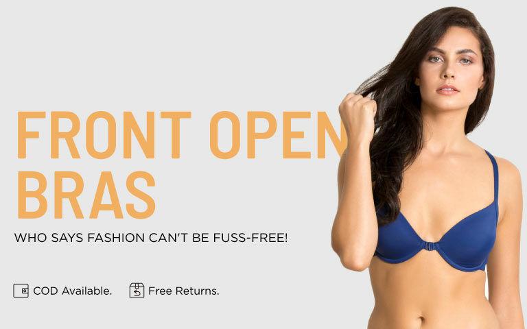 1b2eb1240eb Front Open Bras - Buy Front Open Bras Online in India | Zivame
