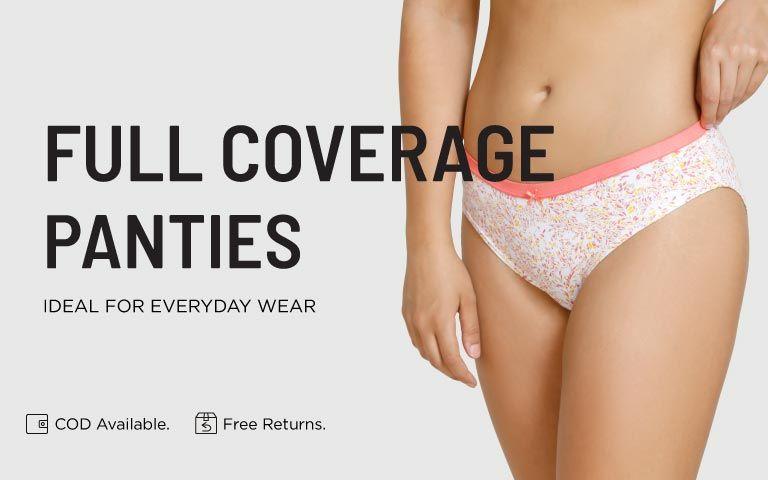 5a78cead4f52e Full Coverage Panties - Buy Full Coverage Panties Online on Zivame ...