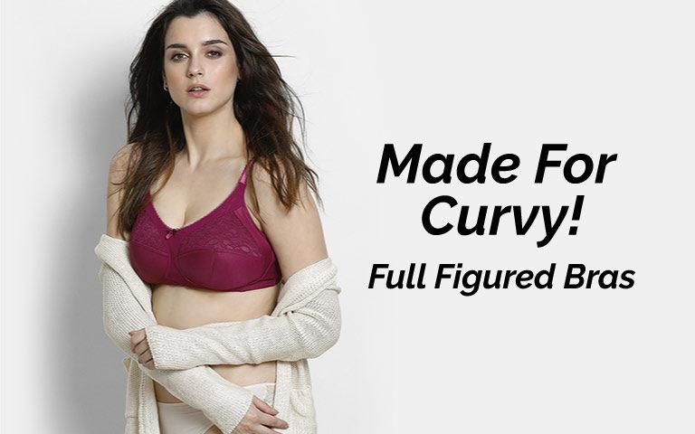 93b961bea Full Figure Bra - Buy Full Figure Bras Online