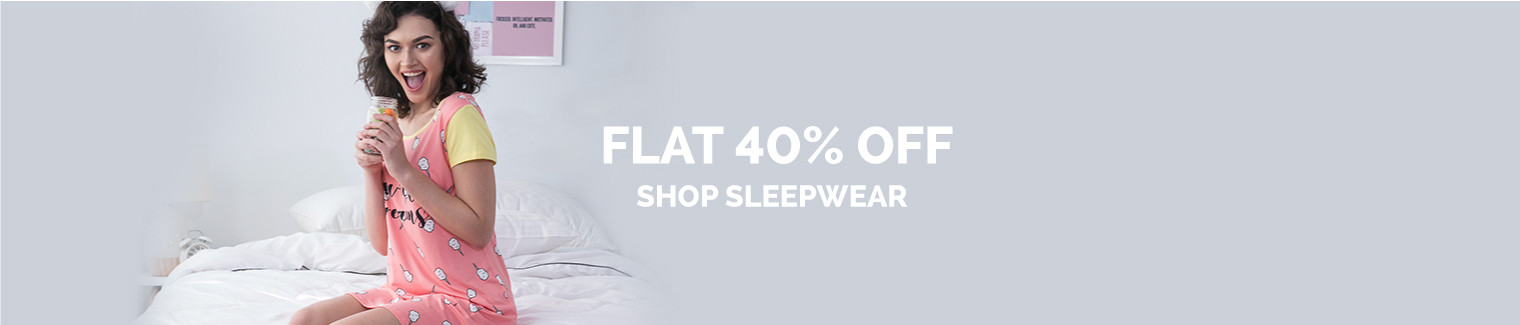 sleepwear Flat 40% off