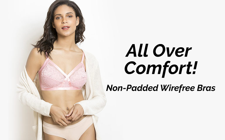 41146b40ee Non Padded Wirefree Bra for Women Online at Best Price