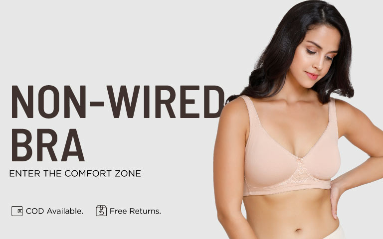 9305d859aaff0 Non-Wired Bras - Buy Wire Free Bras Online in India on Zivame ...