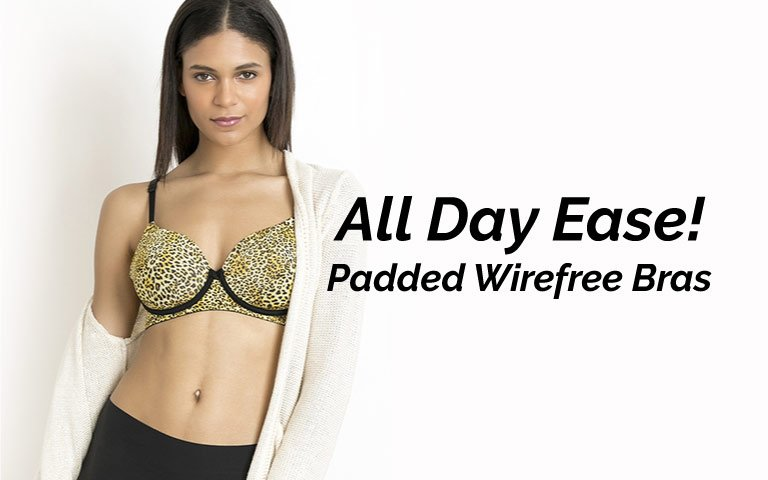 035efafbb9854 Padded Wirefree Bra - Shop Padded Non Wired Bras Online