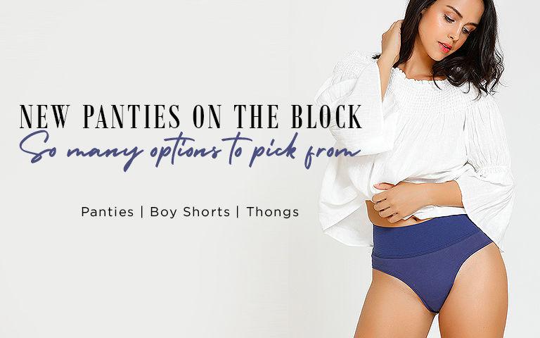 da062748f4be9 Panties - Buy Ladies Underwear & Panties For Women Online | Zivame