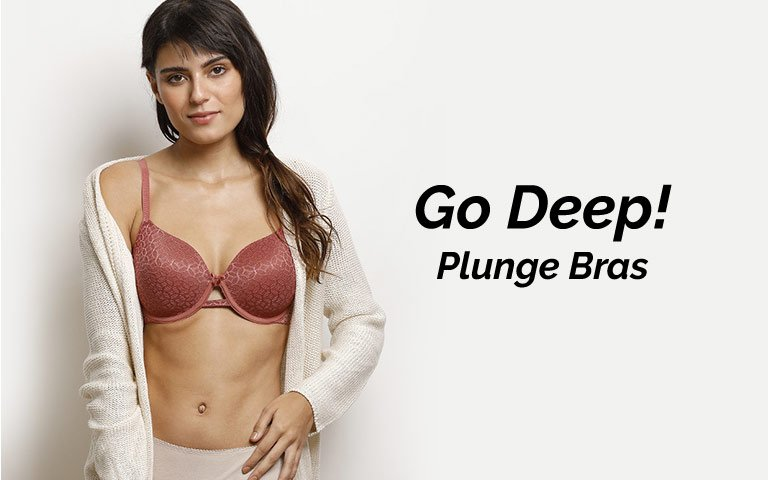 032cdcc830 Plunge Bra - Buy Best Plunge Bras Online in India