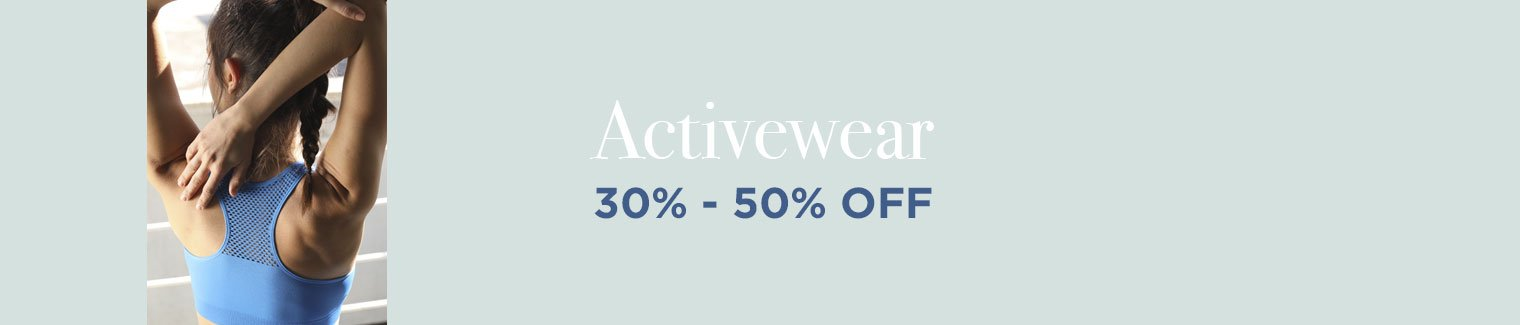 Activewear upto 60% off