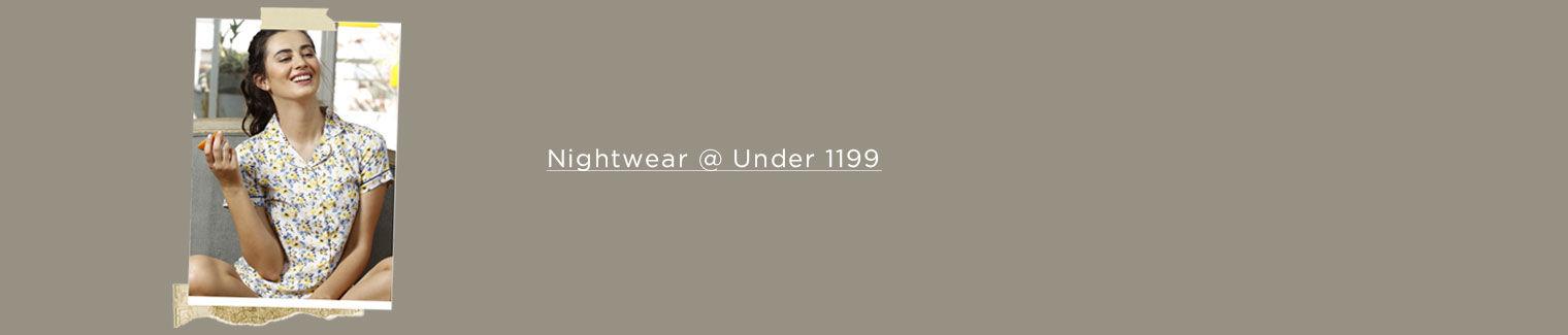 sleepwear under 1199