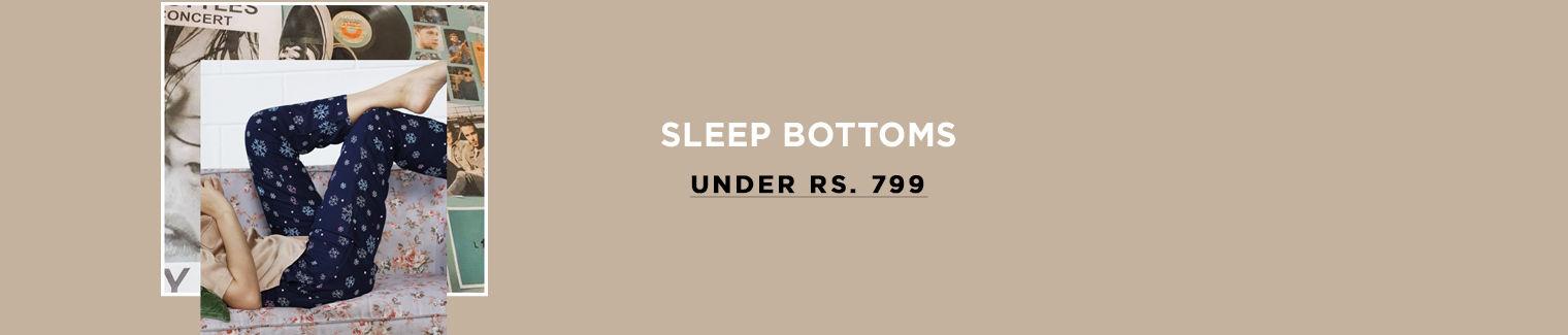 sleep bottoms under 799