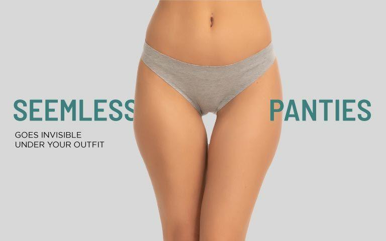 f50853259 Seamless Panties - Buy Seamless Underwear Online in India