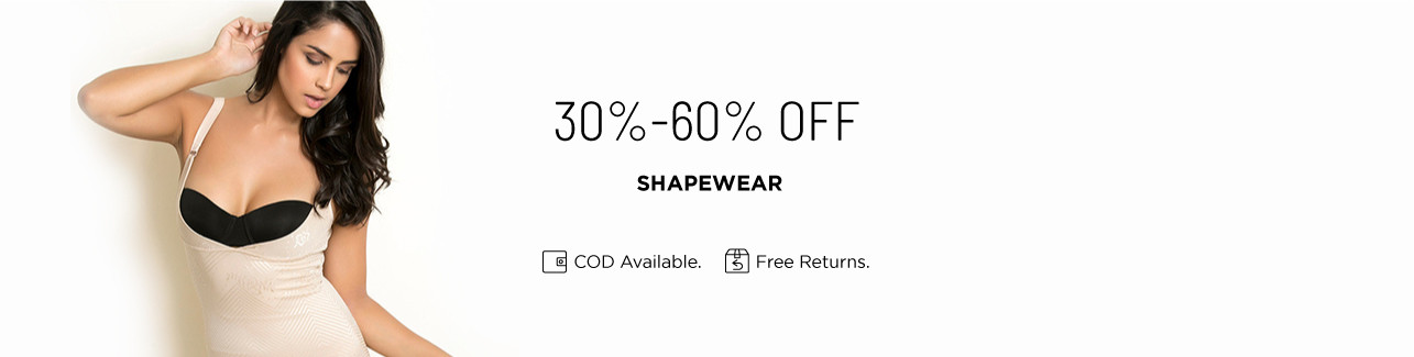 Shapewear 30 to 60 off