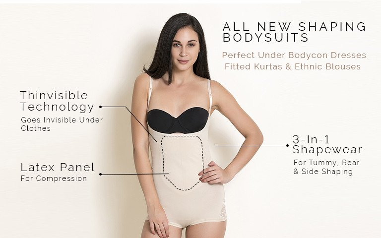 Body Shapers - Shop Ladies Body Shapewear Online   Zivame 7b951e5ecc