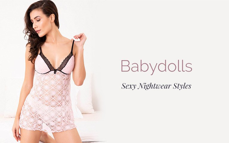 a01b40dbcfaf2 Babydolls - Buy Babydoll Dress, Nightwear & Nighty Online | Zivame