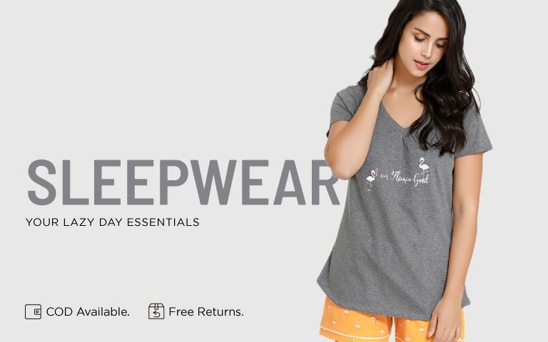 5cd385d024 Nightwear - Buy Women Nightwear & Sleepwear Online in India | Zivame