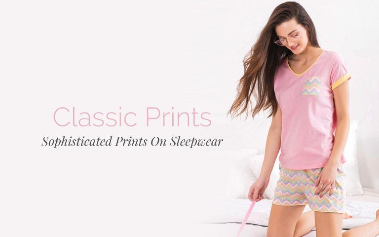 35e0a703d0 Classic Prints Night Dress for Ladies Online
