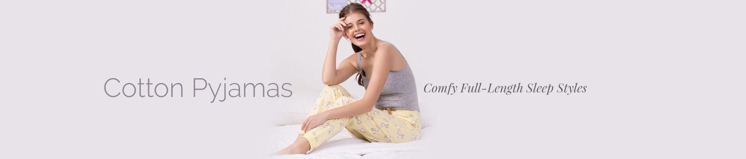 sleepwear cotton pajamas