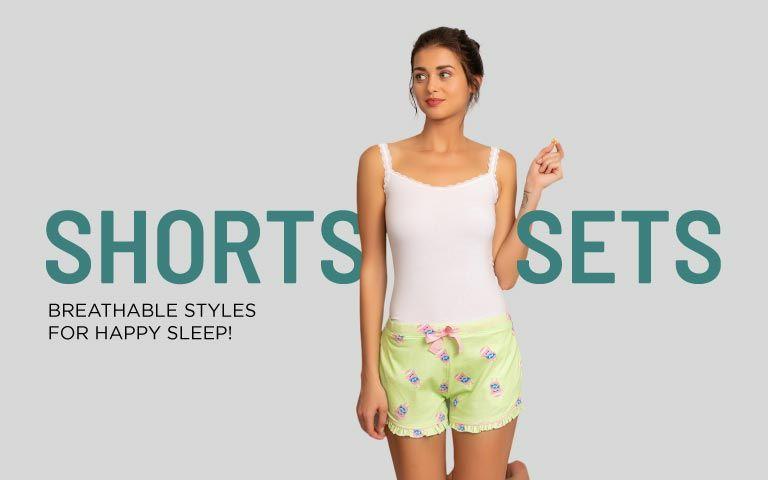997b3d7f9e Night Shorts - Shop Night Short For Ladies Online | Zivame