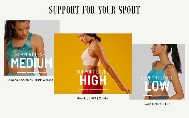 e53645e802112 Sports Bra - Buy Womens Sports Bras Online in India | Zivame