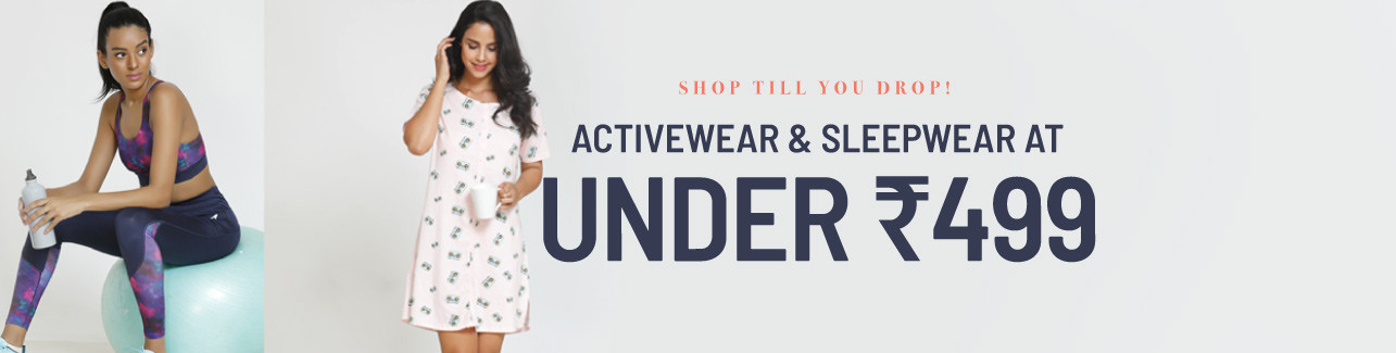 sleepwear | Activewear - under 499