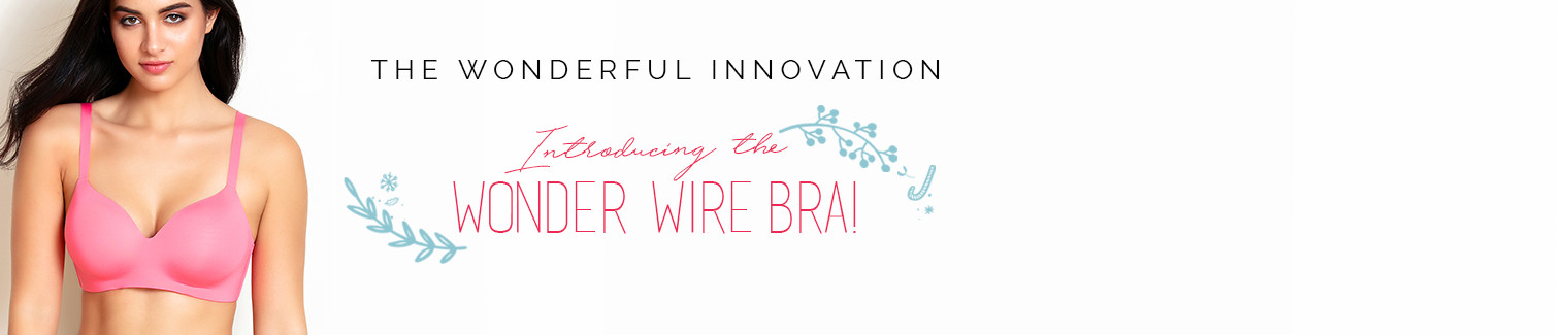 wonder wire bra