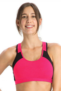 14cf5f07a6947 Buy Jockey Power Back Padded Active Wirefree Sports Bra- Coral at Rs ...