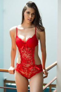 9f3c71a3688d7 Buy Zivame All That Lace Moderate Push Up Teddy-Red at Rs.1397 ...