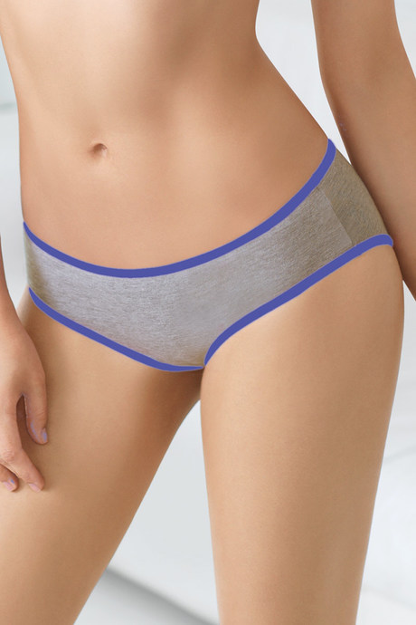 30dbf29241eef Buy Triumph Cotton Stretch Low Rise Hipster Brief-Blue Grey at Rs ...