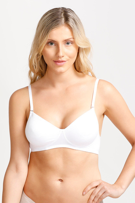 Enamor Invisible Non Padded Non Wired Multiway Bra Strapless-White