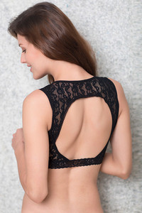 152a27cd41c8a Buy Zivame Made To Layer Medium Coverage Padded Bralette-Black at Rs ...