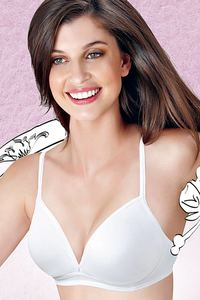 79d2b07a707ac Buy Enamor Seamless Transparent Back Wirefree Bra at Rs.350 online ...