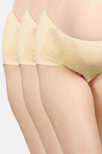 Pack Of 3 Maternity Panties   Skin